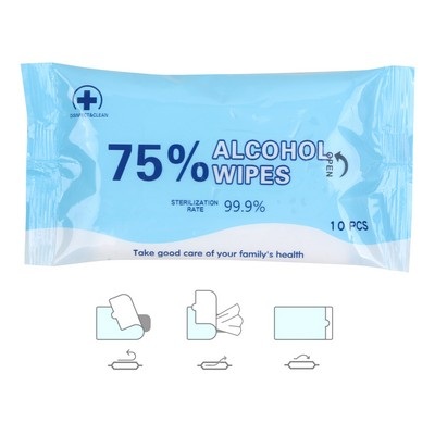 75% Alcohol Wet Wipes PCA01_MED
