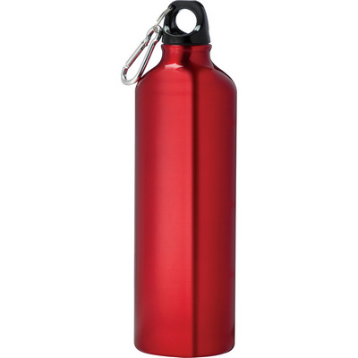 Pacific Aluminum Sports Bottle - Red (4083RD_RNG_DEC)