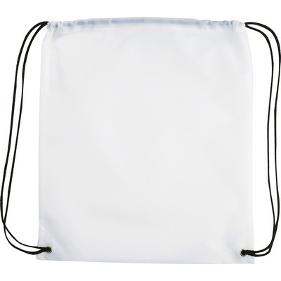 Oriole Drawstring Bag - White (5162WH_RNG_DEC)