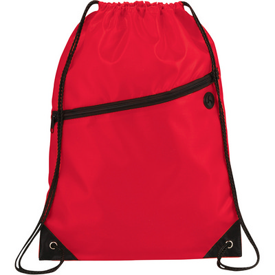 Robin Drawstring Bag - Red (5163RD_RNG_DEC)