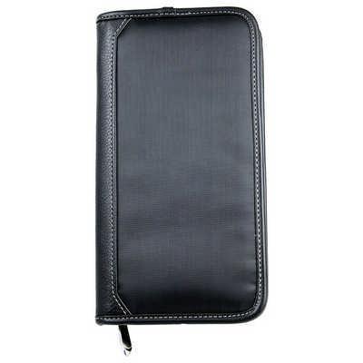 Zip Travel Wallet - Includes Decoration 9017BK_RNG_DEC