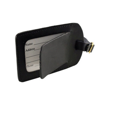 Covered Luggage Tag (9082BK_RNG_DEC)