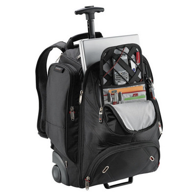 Elleven™ Wheeled Compu-Backpack - Includes Decoration EL002BK_RNG_DEC