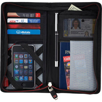 Elleven JetSetter Travel Wallet - Includes Decoration EL010_RNG_DEC
