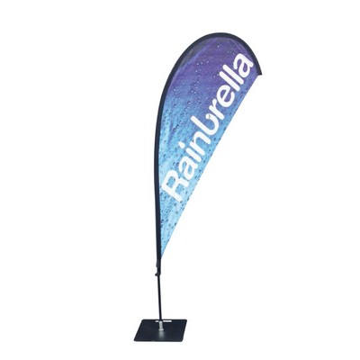 Teardrop Banner, Single Sided - Small Banners, Ribbons & Pennants (SPTB1 S _NZPER)