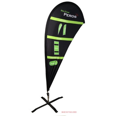 Premium Teardrop Banner Pongee Double Sided - Large Banners, Ribbons & Pennants (SPPTP2 L _NZPER)