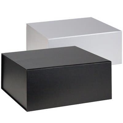 Flat pack magnetic box