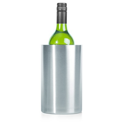 Wine Cooler Stainless Double Wall - Includes Decoration L124_GL_DEC