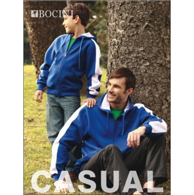 Kids Contrast Fleece (CJ1222_BOCNZ)