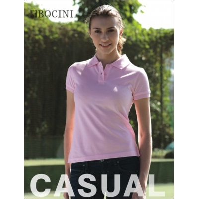 Ladies Pique Knit Fitted Cotton/Spandex Polo (CP0756_BOCNZ)
