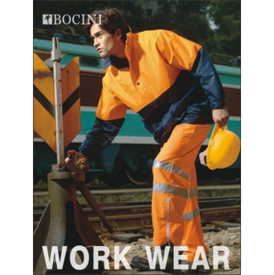 Unisex Adults Hi-Vis Mesh Lining Jacket (SJ0433_BOCNZ)