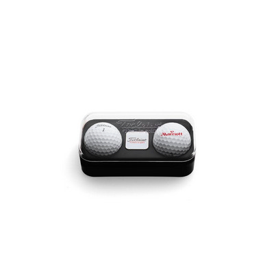 Standard 2-Ball Capsule with Marker - Titleist DT TruSoft (2BTUDTS_PPI)