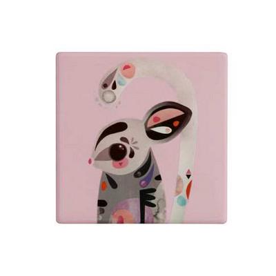 M&W Pete Cromer Ceramic Square TileCoaster 9.5cm SugarGlider (DU0090_PPI)