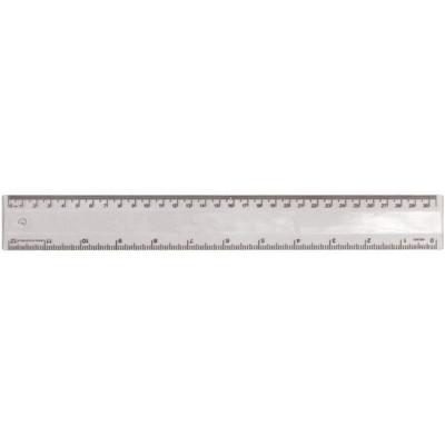 Ruler 30cm Translucent Clear (RULE30CM031_PPI)