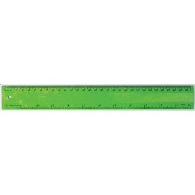 Ruler 30cm Recycled Green (RULE30CM032_PPI)