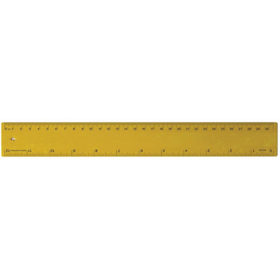 Ruler 30cm Recycled Yellow (RULE30CM048_PPI)
