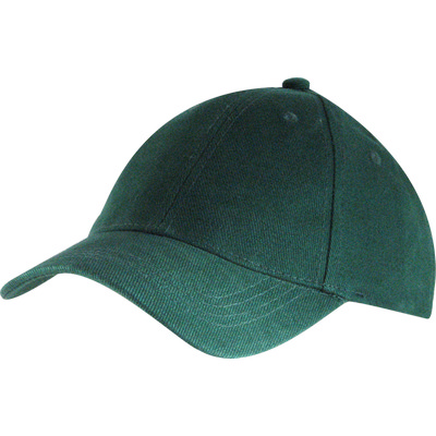 6 Panel Brushed Cotton Cap - Bottle HW24 (H6009BO_PREAP)