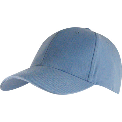 6 Panel Brushed Cotton Cap - Sky HW24 (H6009SK_PREAP)