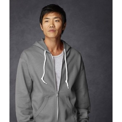 Anvil Adult Full-Zip fashion hooded sweatshirt