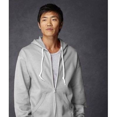 Anvil Adult Full-Zip fashion hooded sweatshirt