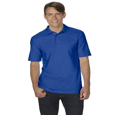 72800 DryBlend Adult Dbl Pique Polo - Royal   (728002RO_PREAP)