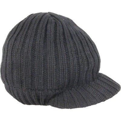 Headwear24 Big Bear peaked beanie