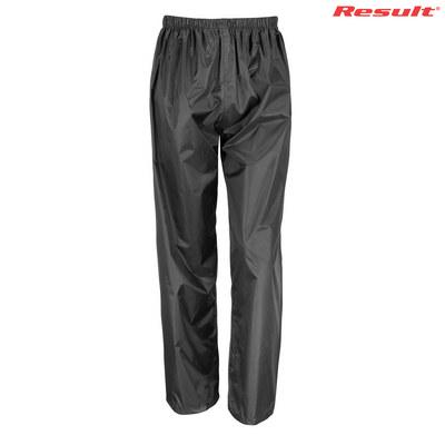 Result Core Youth Rain Pant - Black (R226B2BL_PREAP)