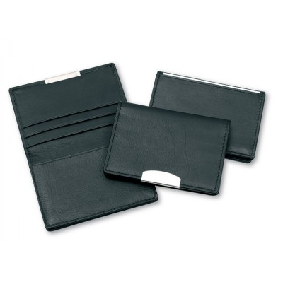 Classic Card Holder With Silver Trim (DABCH12S_CCNZ)