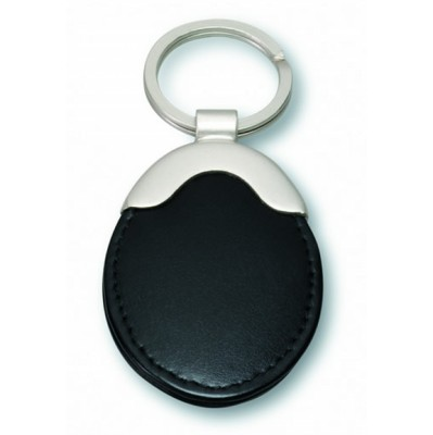 Deluxe Leather Key Ring (KF6_CCNZ)