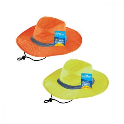 Hi Vis Reflector Safety Hat