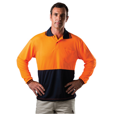 GSCC Hi Viz Long Sleeve Polo