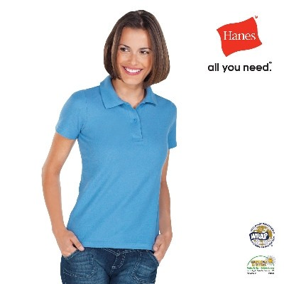 Hanes Women s Heavyweight Polo