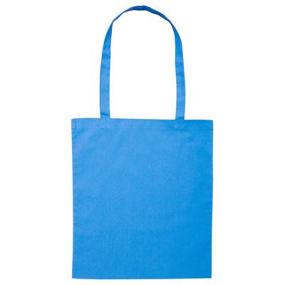 Calico Bag Long Handle - Colours (B109-AQ_PS)