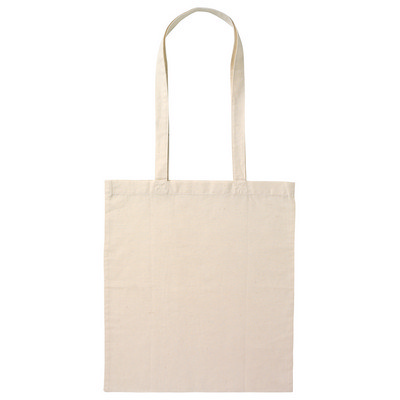 Calico Bag Long Handle - Natural (B109-NL_PS)
