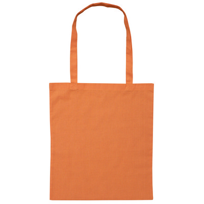 Calico Bag Long Handle - Colours (B109-OR_PS)