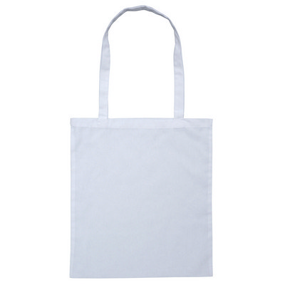 Calico Bag Long Handle - Colours (B109-WH_PS)