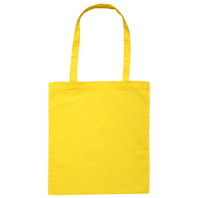 Calico Bag Long Handle - Colours (B109-YE_PS)