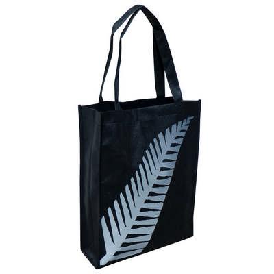 Non-woven Silver Fern A4 Tote Bag