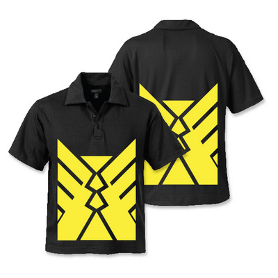 Hi Vis Liquid Cotton Polo
