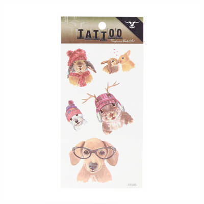 Waterproof Temporary Tattoos - Includes Decoration PCH130_PC