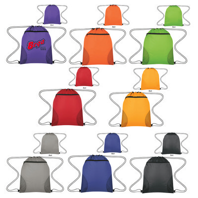 Courtside Drawstring Sports Bag (PH3180_PS)