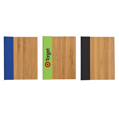 Bamboo Finish Note Book - (printed with 1 colour(s)) PH6124_PS