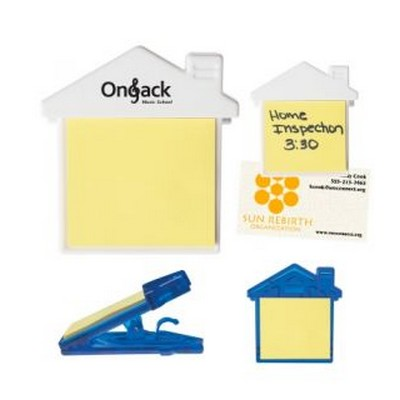 House Clip With Sticky Notes (PH212_PS)