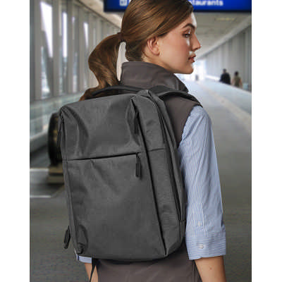 Executive Heather Backpack (B5006_WIN)