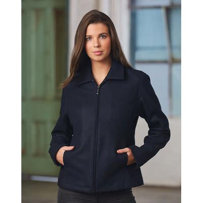 Ladies Flinders Wool Blend Corporate Jacket  (JK14_WIN)