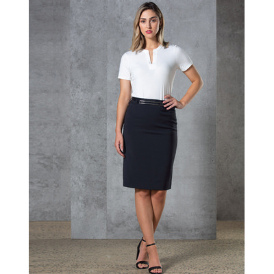 Ladies Twill Stretch Utility Skirt (M9479_WIN)