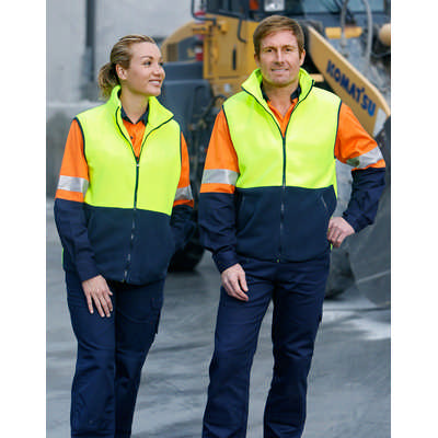 Hi-Vis Two Tone Vest (SW08_WIN)