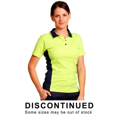 Ladies Fashion Truedry Safety Polo (SW23_WIN)