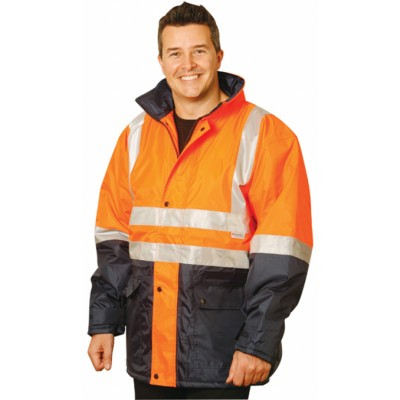 High Visibility Two Tone Jacket with 3M Reflective Tapes (SW28_WIN)