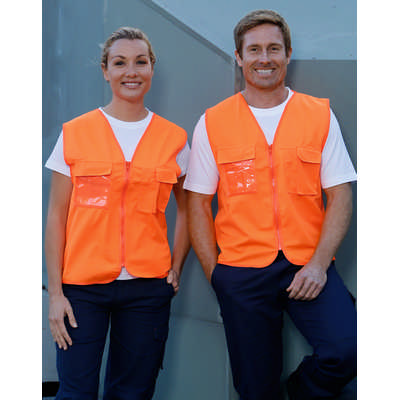 Hi-Vis Safety Vest With Id Pocket (SW41_WIN)